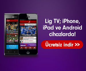 Lig TV Android,iPhone,iPad